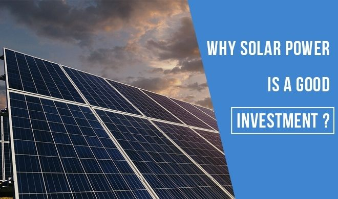 Solar power for investement