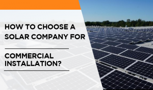 solar panel company for your commercial installation