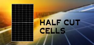 How do half-cut solar cell panels work?
