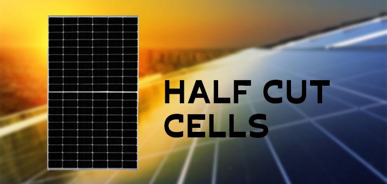 How do half-cut solar panels work?