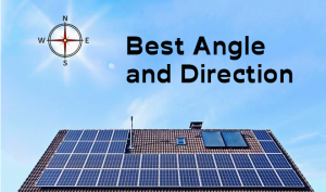 What is the best solar panel direction to install