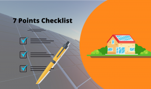 Checklist Before You Finalise Your Rooftop Solar System