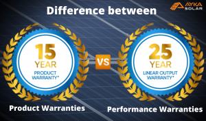 Performance warranties vs product warranties