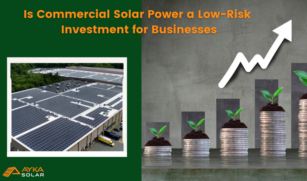commercial solar system a low-risk investment